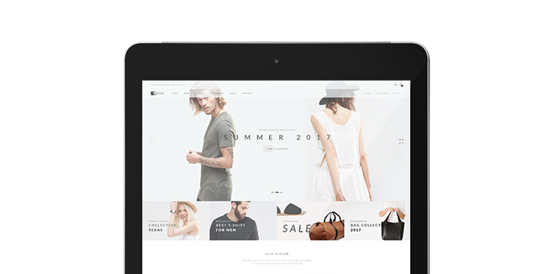 Ecommerce website design Cork Ireland