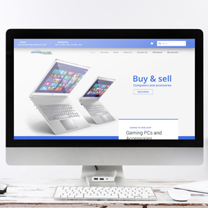 Website design – Computer webshop