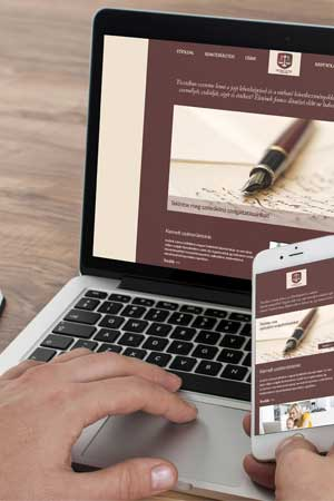Web design – Layer website