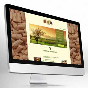 Website design – Winery