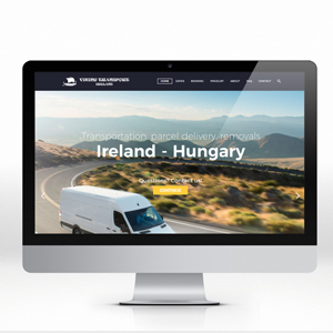 Multi-language website design – Transportation